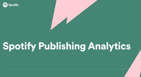 Spotify Publishing Analytics in Beta